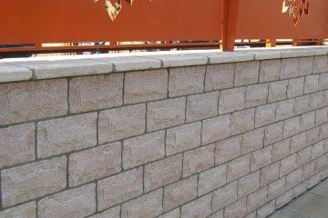 ניקוי בלחץ מים לקירות אבן, שיש ובטון